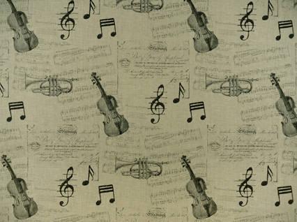 Heirloom Prints Hl concerto Linen