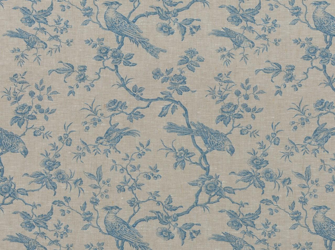 Heirloom Prints Hl mesange Linen