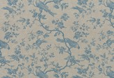 Heirloom Prints Hl-mesange Linen Fabric
