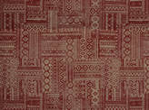 Covington Laramie 353 CRIMSON RED Fabric