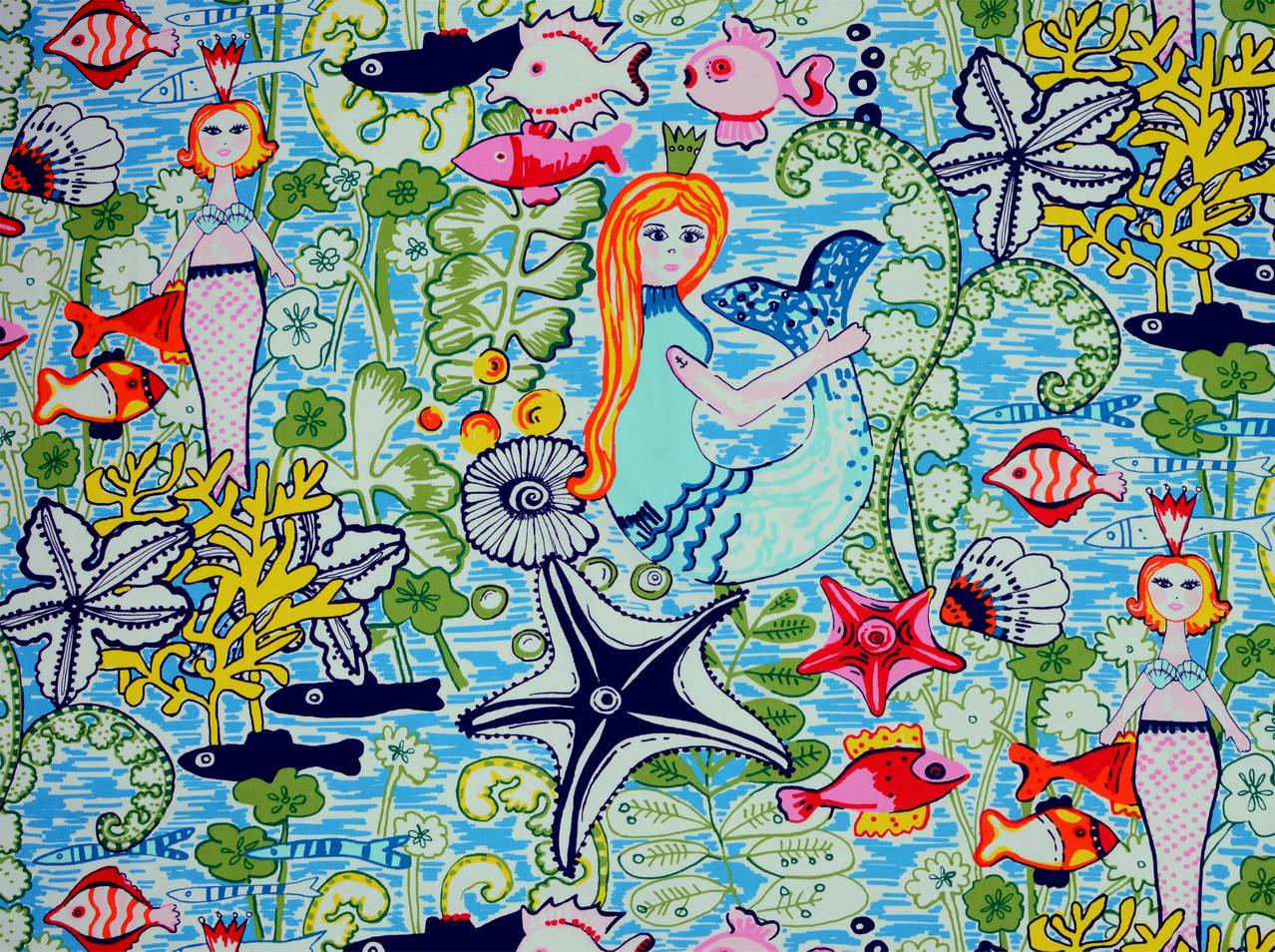 Covington Prints Mermaids