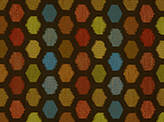 Covington Olney BROWN BLAZE Fabric