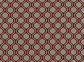 Covington Prismatic CRANBERRY Fabric