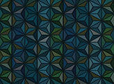 Covington Triangulation TURQUOISE Fabric